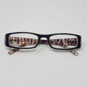 Oscar De La Renta Reading Glasses 1.5 Animal Print